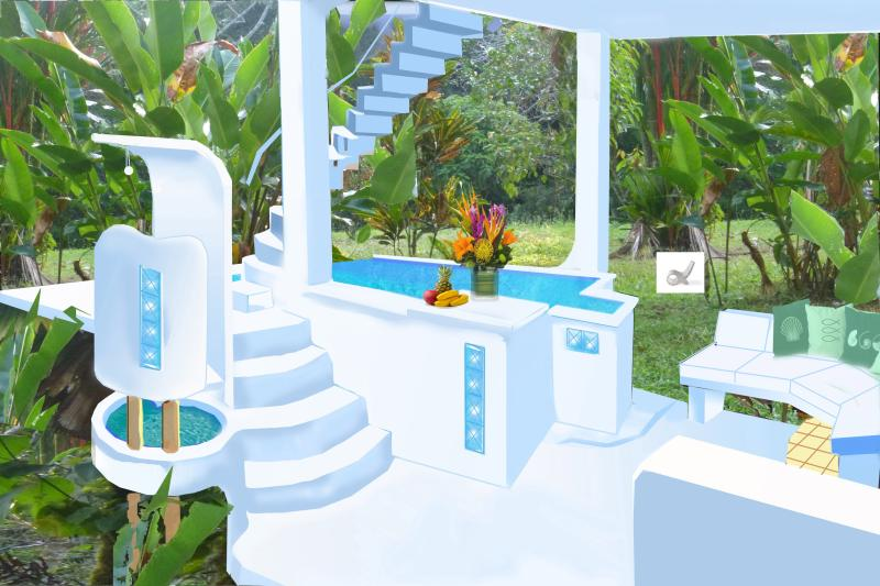 NEW POOL Ready for June 2015 - NEW 2015 /Pool/Ocean Views/Monkeys/Beach close by! - Puerto Jimenez - rentals