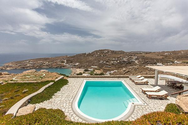 Part of a brand new villa complex perched over Super Paradise Beach. LIV SP2 - Image 1 - Mykonos - rentals