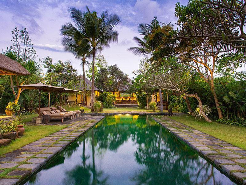 Villa Belong Dua - Pool at dusk - Villa Belong Dua - an elite haven - Seseh - rentals