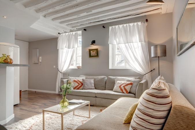 DUPLEX MARAIS 02 : beautiful 2BR ideally located - Image 1 - Paris - rentals