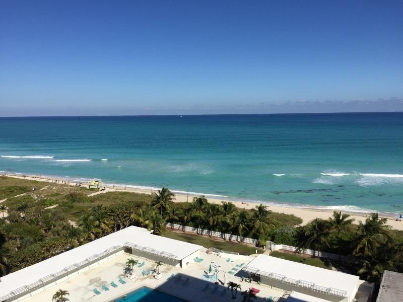 View from Balcony - 2 BR, 2 Bath  Oceanfront Resort Suite 1506 - Miami Beach - rentals