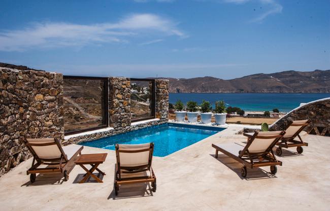 Mykonos Panormos - 2BD Private Pool Villa - Image 1 - Panormos - rentals