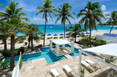 Incredible Beachfront Villa - Image 1 - Dawn Beach - rentals