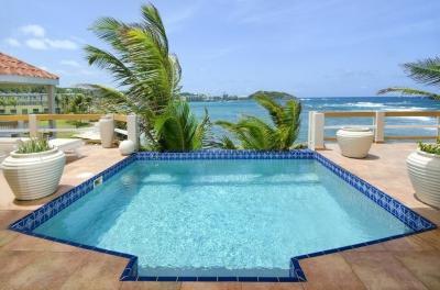 Unparalleled 3 Bedroom Beachfront Villa on Dawn Beach - Image 1 - Dawn Beach - rentals
