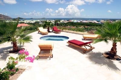 Unbelievable 4 Bedroom Villa on Famous Orient Beach - Image 1 - Orient Bay - rentals