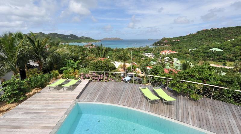 4 Bedroom Villa with Private Terrace overlooking Saint Jean Bay - Image 1 - Saint Jean - rentals