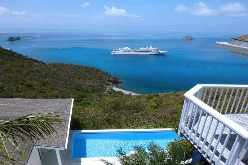 Private 3 Bedroom Villa with Panoramic View in Colombier - Image 1 - Anse des Flamands - rentals