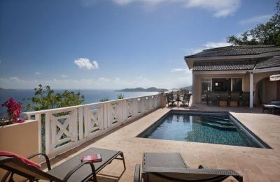 6 Bedroom Villa with Ocean View on Tortola - Image 1 - Tortola - rentals