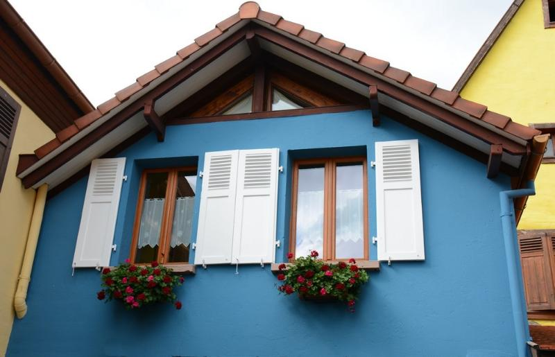 The blue House - Holiday rental :  the Blue House in Alsace - Bergheim - rentals