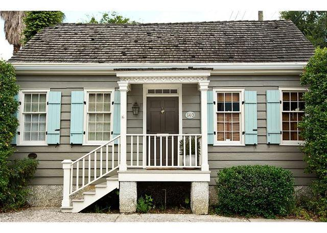 Historic Cottage with a pool - Image 1 - Savannah - rentals