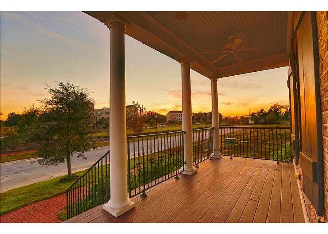 Watch the sunset from your private porch. - Plantation style home on beautiful Hutchinson Island - Savannah - rentals