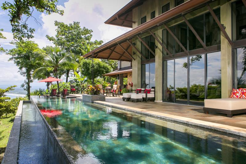Villa Paraiso Ocean-View Infinity Edge 70-ft. Lap Pool and Wrap-Around Outdoor Terrace - Best Ocean-View Villa w/ Daily Breakfast - Manuel Antonio National Park - rentals