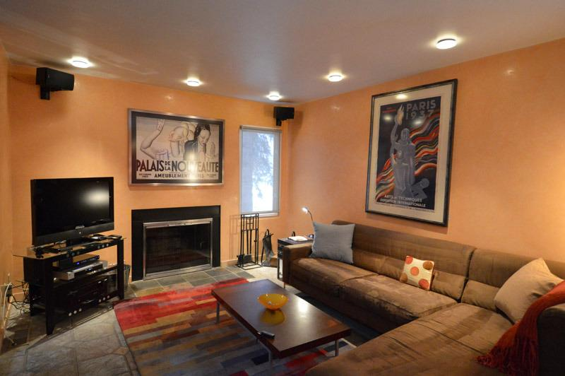 Main LivingRoom with fireplace - Aspen Townhouse Cool Upscale 3 Bedr Architect Redo - Aspen - rentals