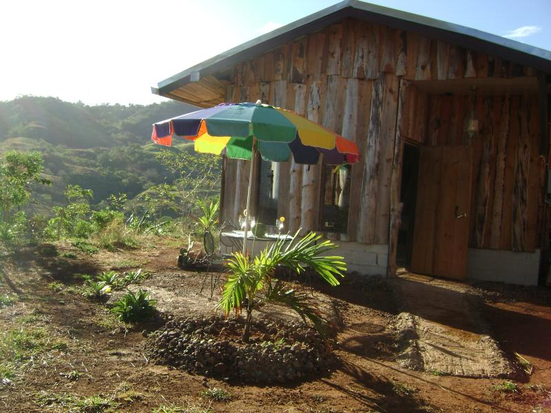 front entrance - The Cabin Within Finca Las Mariposas - Santiago de Puriscal - rentals
