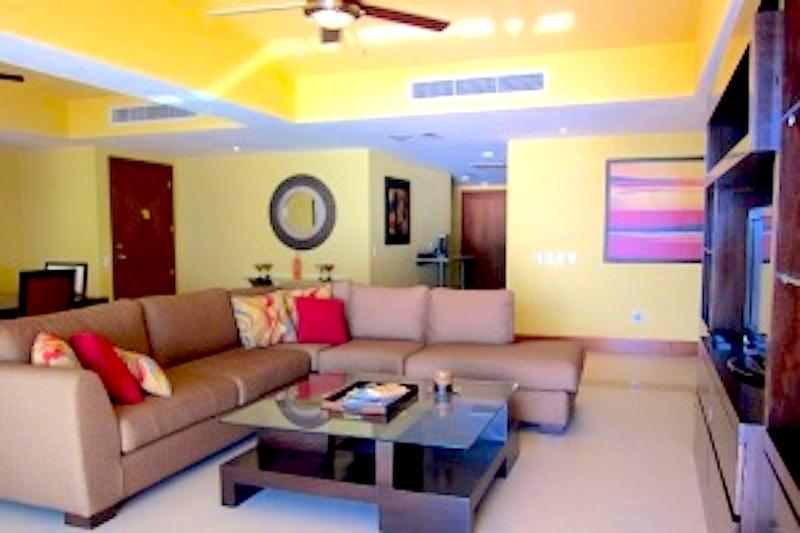 Living room - Grand Venetian 408-2000 - Nuevo Vallarta - rentals