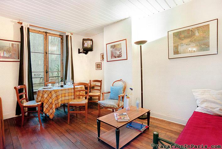 8/classique-one-bedroom - Image 1 - Paris - rentals