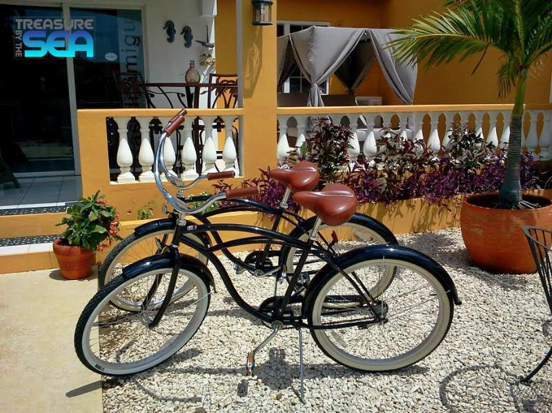 Guests have complimentary use of the 4 beach cruisers - Treasure By The Sea Bonaire KAS DI AMIGU 2 - Kralendijk - rentals