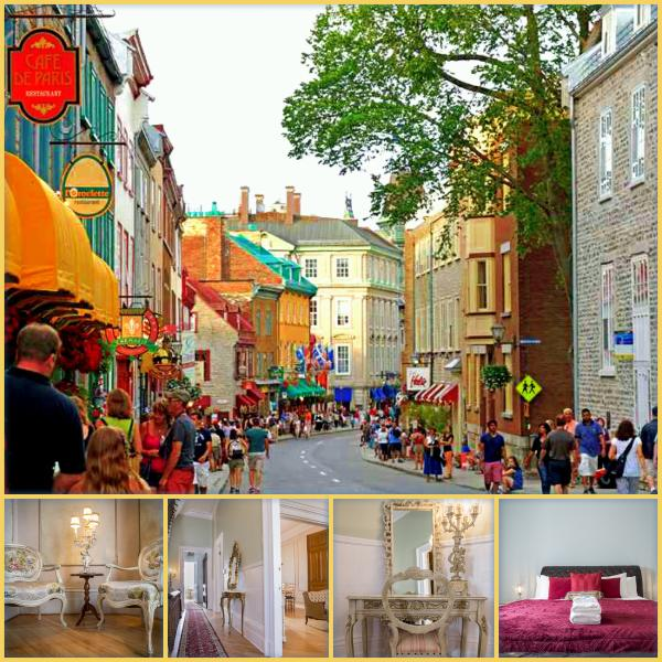 Maison Versailles, Maison Montcalm Old Quebec City, steps from the Fortress wall, Plains of Abraham - Million$$$Location Grande-Allée E, Old Quebec City - Quebec City - rentals