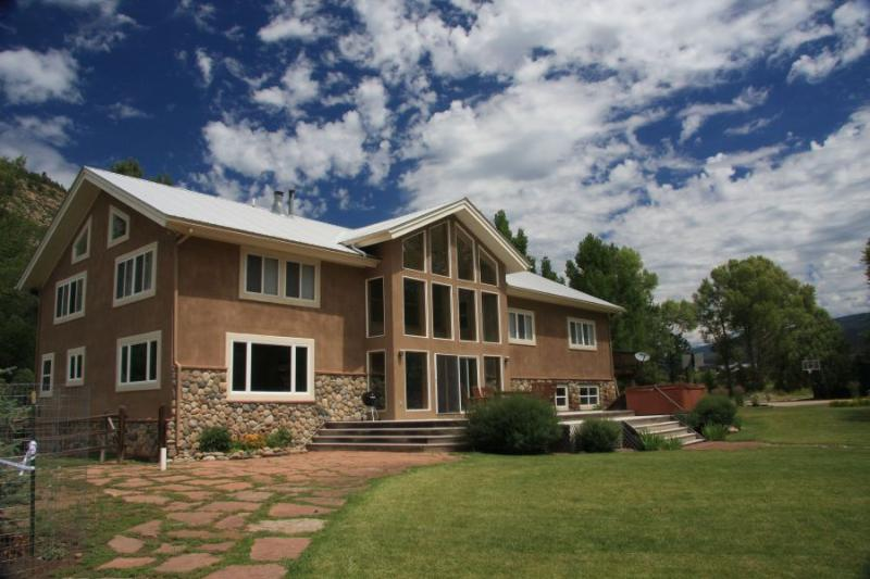 Back of the House - Whitewater Ranch - Durango - rentals