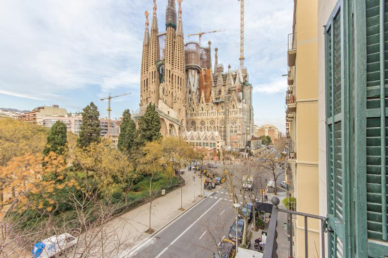From our balcony - Lucky Sagrada Familia · 4 Bedrooms Great Views! - Barcelona - rentals