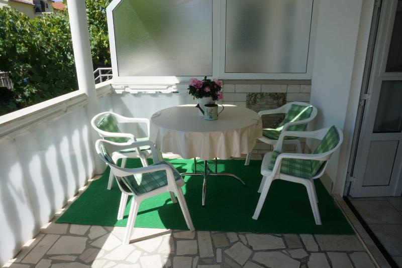 A2(2+1): terrace - 5778 A2(2+1) - Orebic - Orebic - rentals