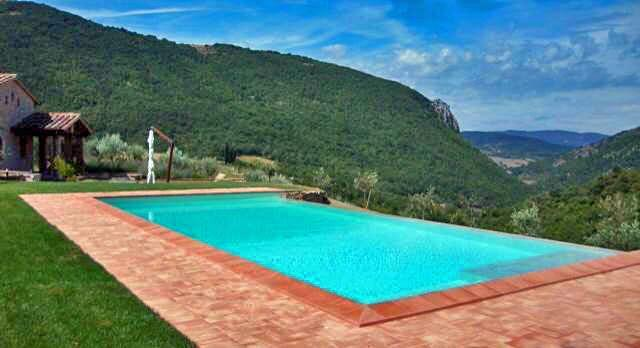 Piantoni Infinity Pool - Villa Piantoni on Private Antognolla Golf Estate - Perugia - rentals