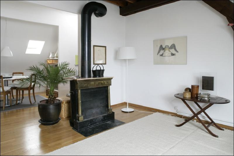 Suite Surah Living & dining room - SURAH serviced apartment charming 1920 house - Lausanne - rentals