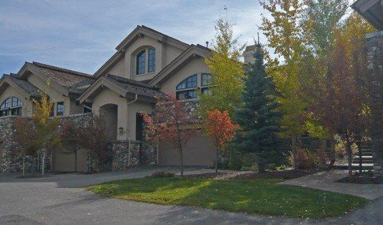 Front Exterior of the home  - Fairway One #5006 - Elkhorn - Beautiful Townhome on the golf course, Long term and Seasonal rentals - Ketchum - rentals