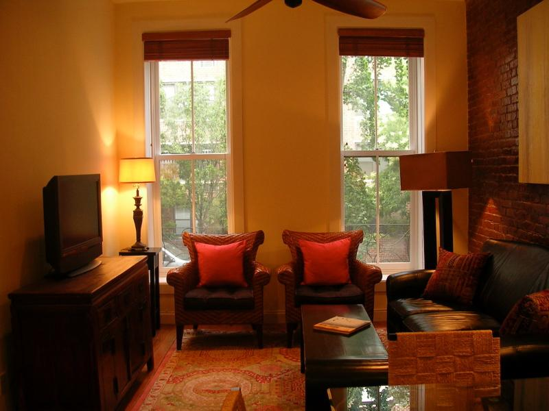 Charming, Tree-lined block on East 18th St. 2BR/2B - Image 1 - New York City - rentals