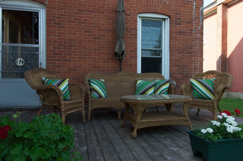 Front Porch - Luxury Home in Village of Westport - Westport - rentals