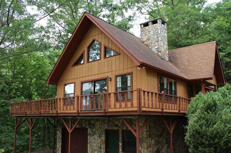 Cozy Cabin is Only 5 Miles from the Great Smoky Mountains Railroad - Cozy Cabin - With a Wood Burning Fireplace and Nintendo Wii, This Rental is Just 10 Minutes from the Great Smoky Mountains Railroad - Bryson City - rentals