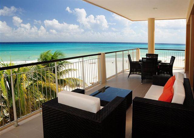 El Faro Surf 309 Terrace - Modern Oceanfront 2bed Condo in El Faro (EFS309) - World - rentals