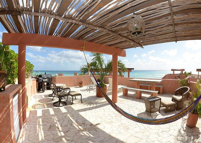 Luna Encantada A3 - Oceanfront with pool 3 bedroom penthouse in Luna Encantada (LEA3) - Playa del Carmen - rentals