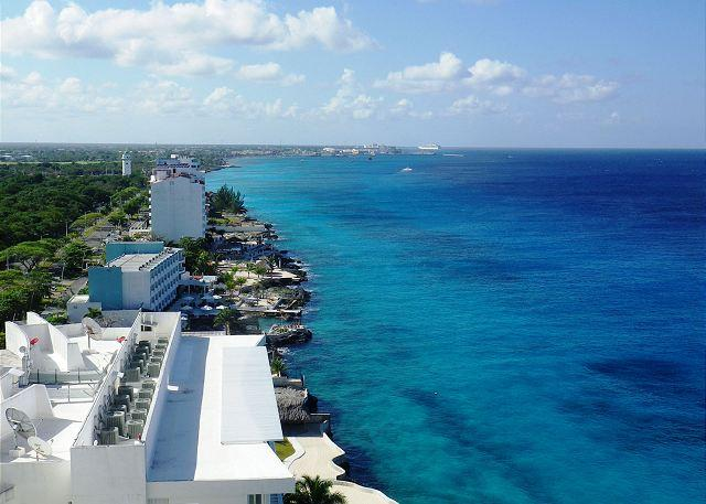 Peninsula Grand has unique, breathtaking views - Oceanfront with pool 3 bedroom in Peninsula Grand (PG12A) - Cozumel - rentals
