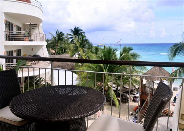El Faro Surf 309 Balcony - Luxurious 1 bedroom 2-bathroom beachfront condo (EFS307) - Playa del Carmen - rentals