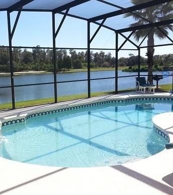Lake Berkley-7BR PoolVilla, Large Deck, Lake View, BBQ, 2 Master Suites - Image 1 - Kissimmee - rentals