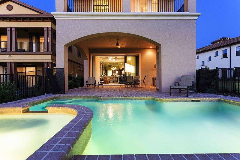 Be sure to enjoy an evening dip after a long day at the parks - Magnificent Manor | 4 Bed Pool Home | Reunion Resort - Kissimmee - rentals