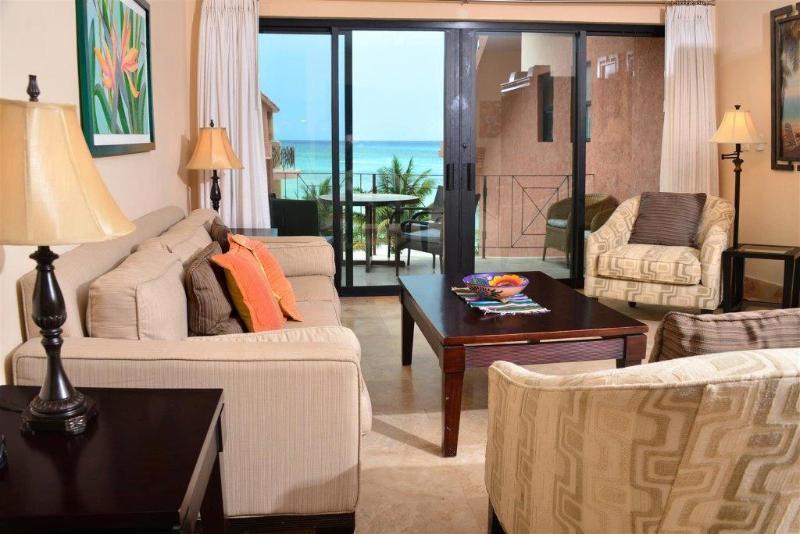 Amazing views from the main living area! - Luna Encantada E-3 - Playa del Carmen - rentals