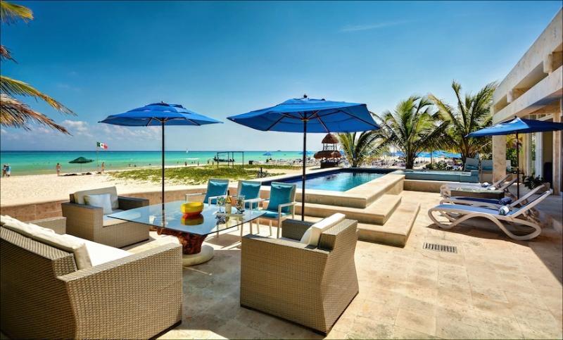 Oceanfront villa with private pool - Beach House/Casa Callaway - Playa del Carmen - rentals
