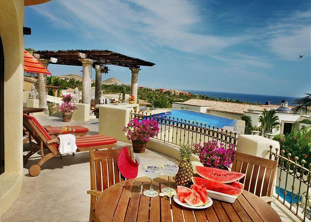 Upper Deck - Villa Amor 4+4 Oceanview in Cabo del Sol walking distance to the beach - Cabo San Lucas - rentals