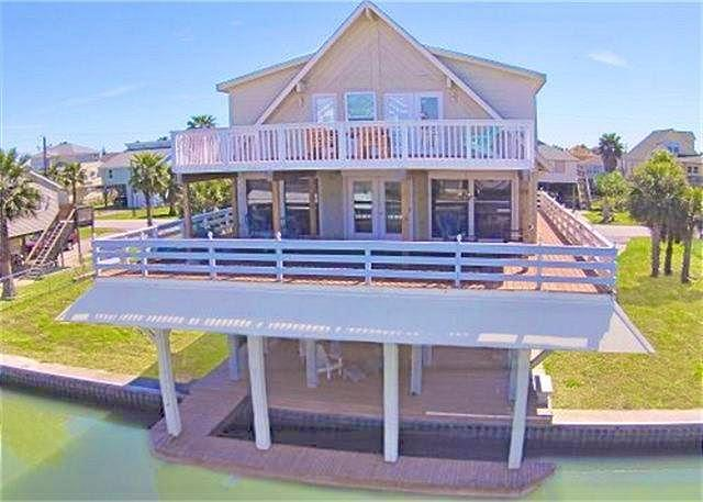 Attractive and grand canal front home located on the beautiful west end! - Image 1 - Galveston - rentals