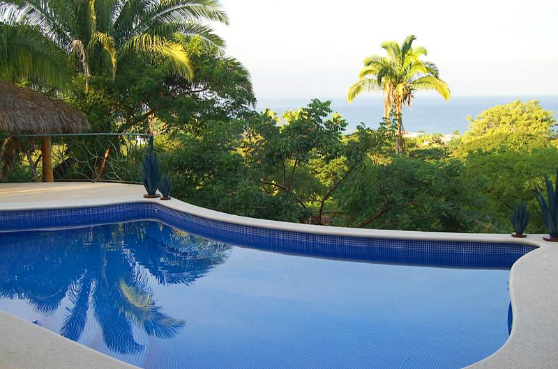 Ocean view pool - Casa Colibrí - Ocean View! - San Pancho - San Pancho - rentals