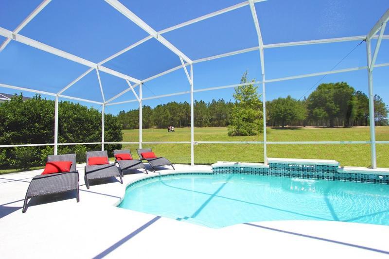 Estate with Private Pool overlooking Golf Course - 14 room Disney Golf Resort Villa - Davenport - rentals