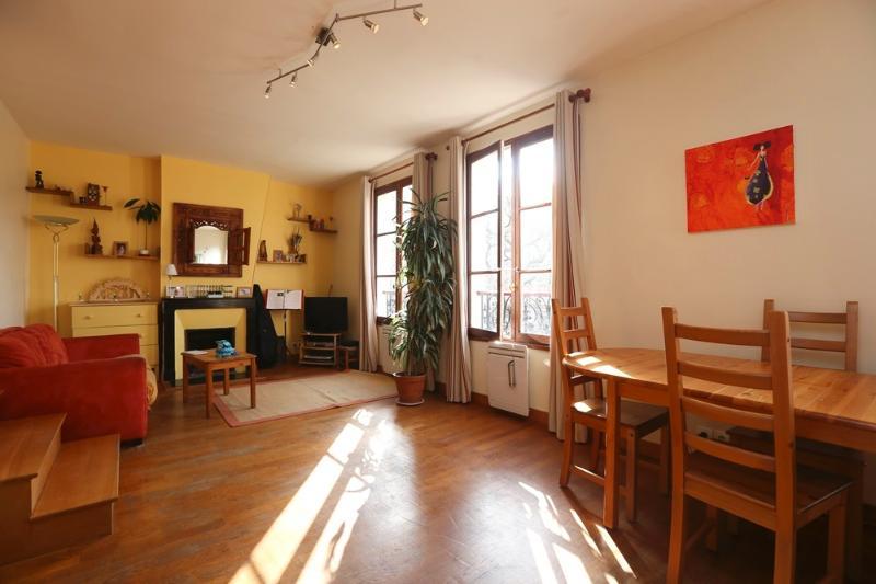 Living area - Beautiful 2BR Duplex 4 guests - Les Gobelins P13 - Paris - rentals