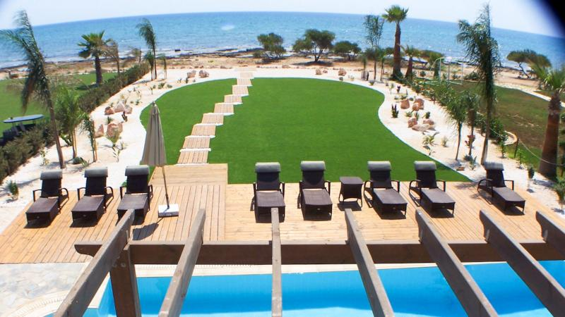 Oceanview Villa 075 - Large gardens & Sea Views - Image 1 - Protaras - rentals