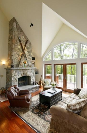 Daisy Hill Living Area - Daisy Hill - New Adirondack Getaway with Views of Whiteface Mountain - Lake Placid - rentals