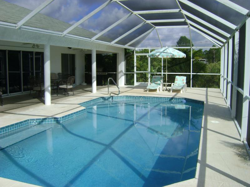 Pool - Private Pool Home Fort Myers area - Lehigh Acres - rentals
