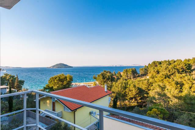 2 - Kali, staliste otric, 50 m to beach, sea view - Kali - rentals