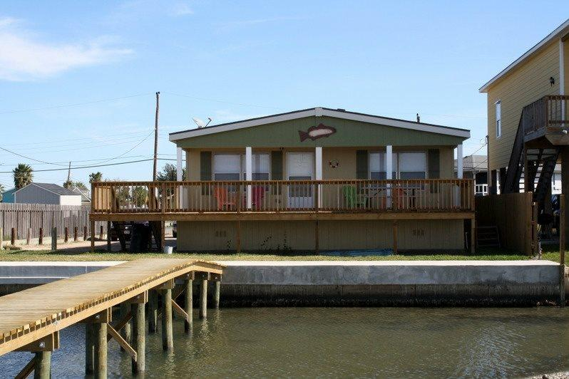 Redfish Reef view of the back of the house - Redfish Reef - Rockport - rentals