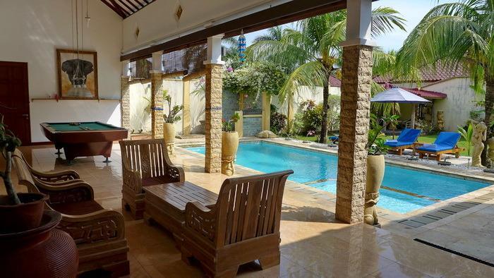 View from Verandah - Villa Stella Garden Senggigi - Senggigi - rentals